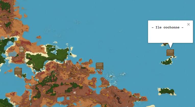 Localisation de l'ile